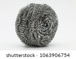 still with scourer isolated on...   Shutterstock . vector #1063906754