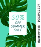 summer  layout design  greeting ... | Shutterstock .eps vector #1063911329