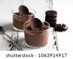 Chocolate Mousse In A Glasses...