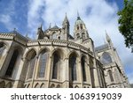 cathedral in bayeux  normandy | Shutterstock . vector #1063919039