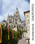 cathedral in bayeux  normandy | Shutterstock . vector #1063919051