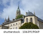 cathedral in bayeux  normandy | Shutterstock . vector #1063919069
