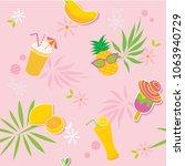 illustration vector of summer...   Shutterstock .eps vector #1063940729