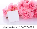 happy mother's day  carnations... | Shutterstock . vector #1063964321