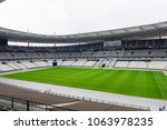 Small photo of PARIS - APRIL 1, 2018: Stade de France, the national footbal and rugby stadium, Saint-Denis, Paris