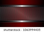 background with a metal grille... | Shutterstock .eps vector #1063994435