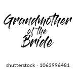 typography brush text wedding... | Shutterstock .eps vector #1063996481