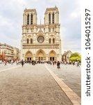 paris  france   september 28 ... | Shutterstock . vector #1064015297