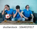 young group of caucasian... | Shutterstock . vector #1064019317