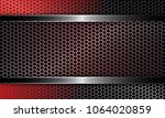 background with a metal grille... | Shutterstock .eps vector #1064020859