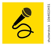microphone icon vector | Shutterstock .eps vector #1064023451