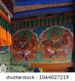 ladakh  india   sep 12  2017  ... | Shutterstock . vector #1064027219