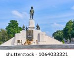 king rama vi monument in... | Shutterstock . vector #1064033321