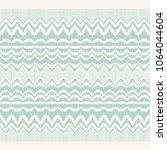ikat seamless pattern. vector... | Shutterstock .eps vector #1064044604