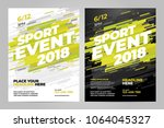 vector layout design template... | Shutterstock .eps vector #1064045327