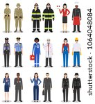 people occupation characters... | Shutterstock .eps vector #1064048084