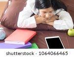 in the morning  white shirt... | Shutterstock . vector #1064066465