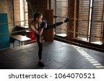 full length shot of stylish...   Shutterstock . vector #1064070521
