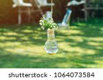 Light Bulb Vase With Small...
