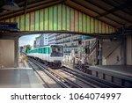metro station in paris | Shutterstock . vector #1064074997