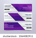 paper cut banners  flyers ... | Shutterstock .eps vector #1064082911