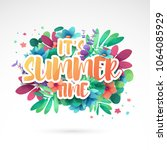 template design banner for... | Shutterstock .eps vector #1064085929
