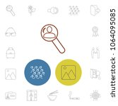 universal icons set with... | Shutterstock . vector #1064095085