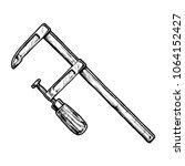 hand drawn illustration of bar... | Shutterstock .eps vector #1064152427