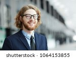 young smiling bearded... | Shutterstock . vector #1064153855