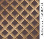 art deco pattern. seamless... | Shutterstock .eps vector #1064182124