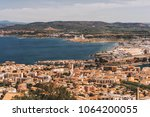 sete   fascinating small town... | Shutterstock . vector #1064200055