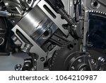 close up detail of modern...   Shutterstock . vector #1064210987