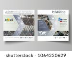 business templates for square... | Shutterstock .eps vector #1064220629