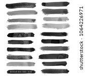 vector dark black grunge... | Shutterstock .eps vector #1064226971