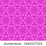seamless vintage   retro style... | Shutterstock .eps vector #1064227325