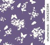leaf illustration pattern. it... | Shutterstock .eps vector #1064232584