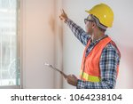 inspection checklist review... | Shutterstock . vector #1064238104