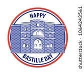 bastille day french celebration | Shutterstock .eps vector #1064243561