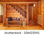 Rustic Old Log Cabin Details...