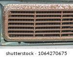 classic car rust | Shutterstock . vector #1064270675