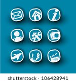 icon set for web applications   ... | Shutterstock .eps vector #106428941