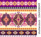 indian rug paisley ornament... | Shutterstock .eps vector #1064308049