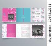 brochure design  brochure... | Shutterstock .eps vector #1064312381