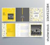 brochure design  brochure... | Shutterstock .eps vector #1064312384