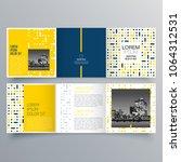 brochure design  brochure... | Shutterstock .eps vector #1064312531