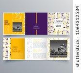 brochure design  brochure... | Shutterstock .eps vector #1064312534