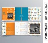 brochure design  brochure... | Shutterstock .eps vector #1064312561