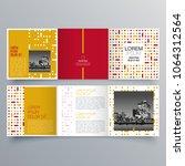 brochure design  brochure... | Shutterstock .eps vector #1064312564