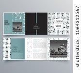 brochure design  brochure... | Shutterstock .eps vector #1064312567