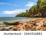 scenic ross island sea beach...   Shutterstock . vector #1064316881